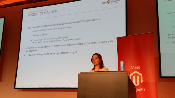 Meet Magento 2015 Frontend Entwicklung in Magento: LESS/SASS - Maria Kern