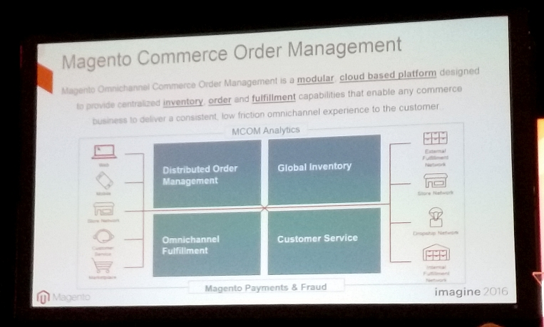 Magento Imagine 2016 Order Management