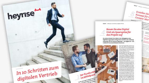 Seitenausschnitte Whitepaper In 10 Schritten zum digitalen Vertrieb
