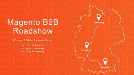 Roadshow Deutschlandkarte