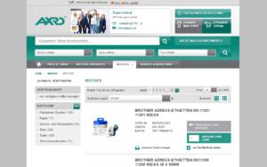 AXRO Magento Referenz Screenshot 2