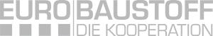 Eurobaustoff Logo grau