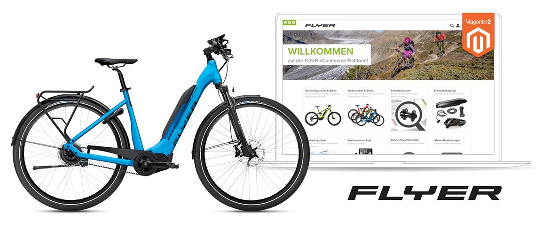 Flyer Bikes Agile E-Commerce-Plattform-Entwicklung