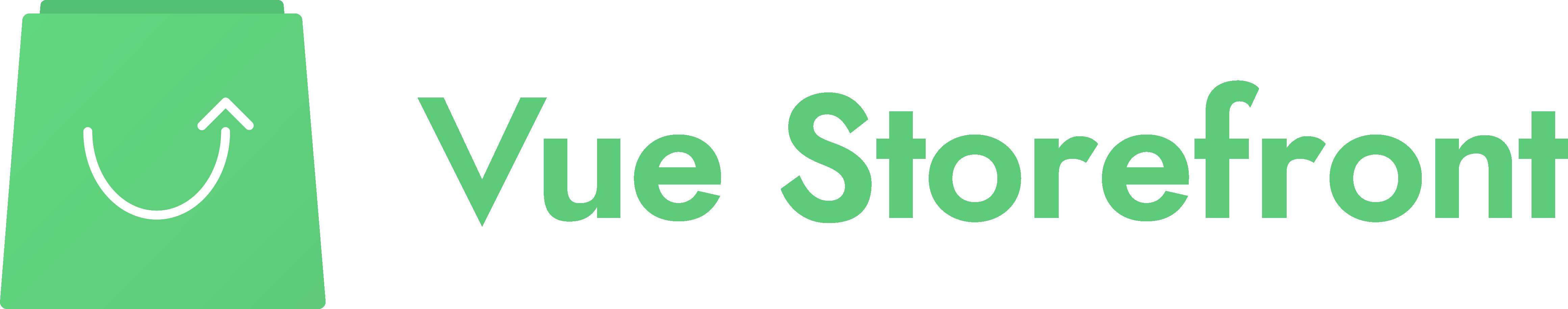 Full Vue Storefront Logo