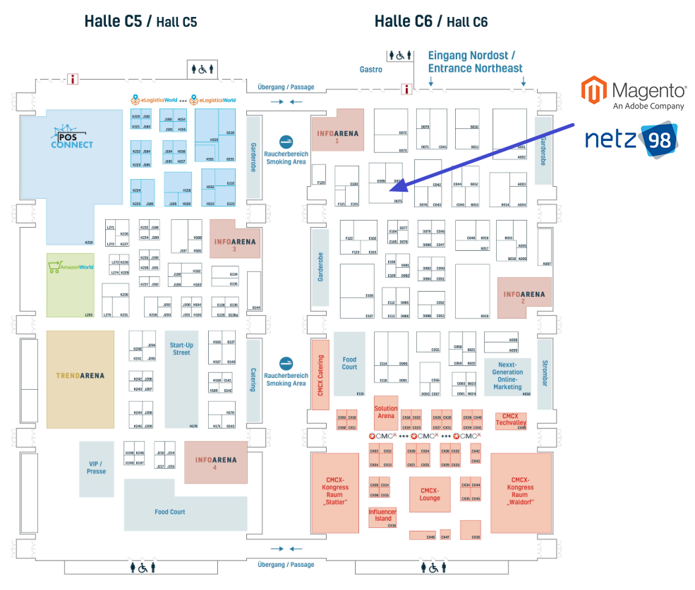 Hallenplan - INTERNET WORLD EXPO