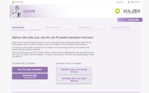 Kulzer Magento B2B Referenz Screenshot 1