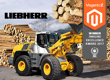 Liebherr B2B Referenz mit Imagine Excellence Award