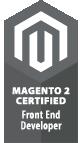 Magento badge frontend developer