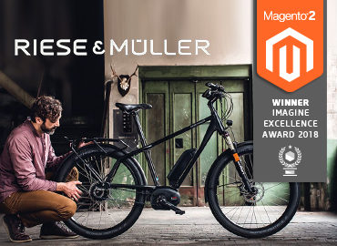 Riese & Müller Referenz mit Imagine Excellence Award