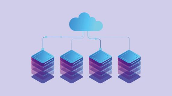 Varnish-Teasebild mit Cloud- und Servernetz