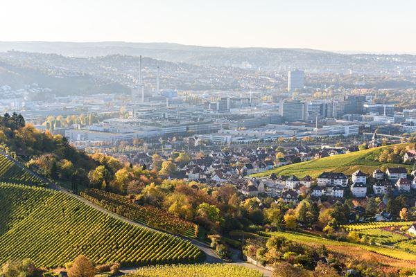 Weinberge um Stuttgart