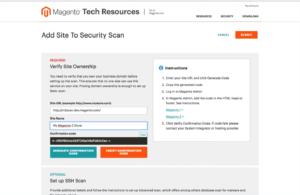 Beispiel Autorisierung Security Scan