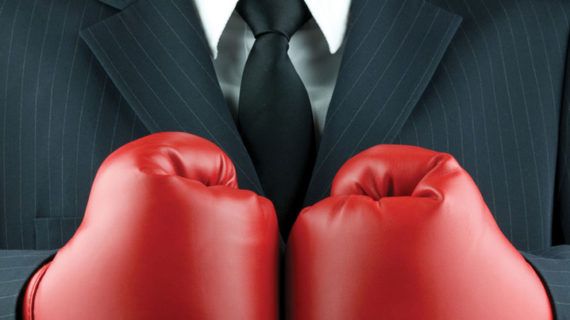 Business Fight (Bild: iStock)