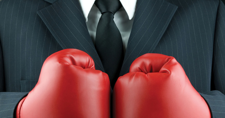 Business Fight (Bild: iStock)