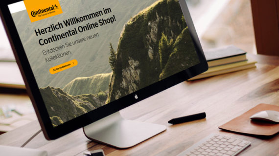 Continental Onlineshop by netz98 (Bild: Mockdrop.io / Continental)