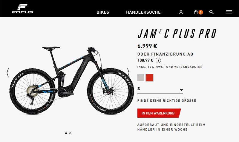 Online bestellen, im Ladengeschäft abholen: Immer mehr Unternehmen setzen auf Cross-Channel (Bild: FOCUS Bikes)