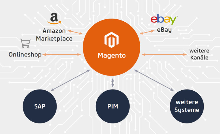 Headless E-Commerce Beispiel: Headless Magento (Bild: netz98)