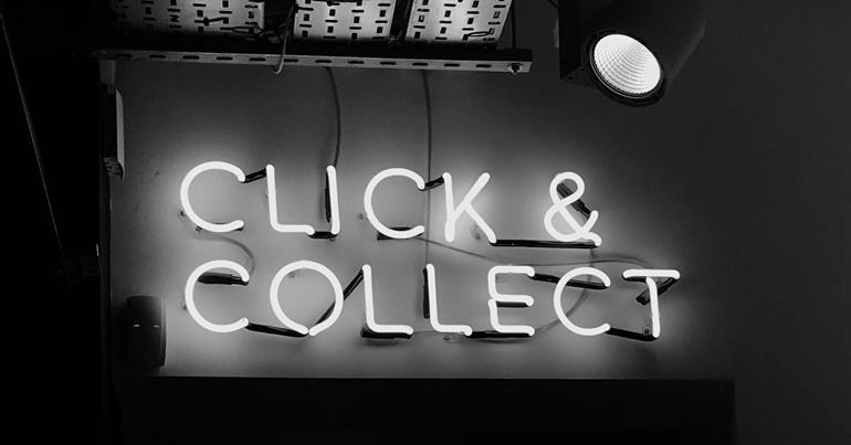 Click & Collect / Photo by Henrik Dønnestad on Unsplash