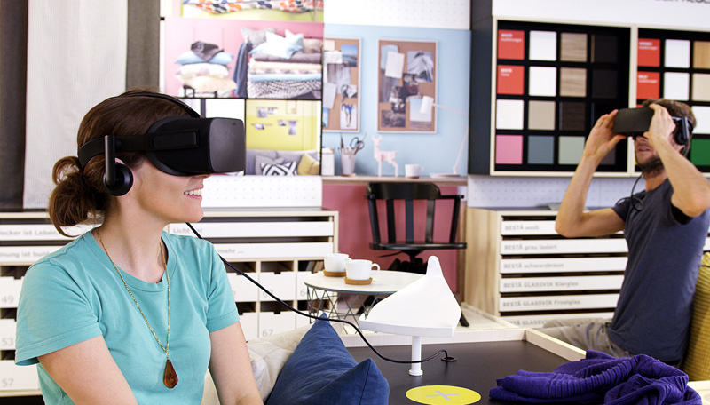 IKEA VR (Bild: IKEA)