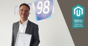 Magento 2 Certified Solition Specialist (Bild: Magento / netz98)