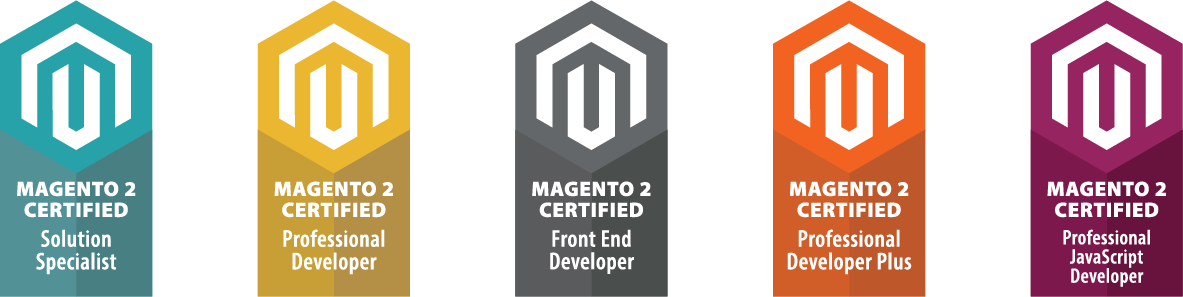 Magento Developer Badges