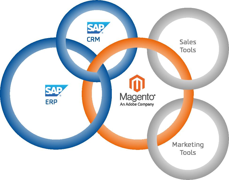 Verbindung Magento SAP (Bild: netz98)