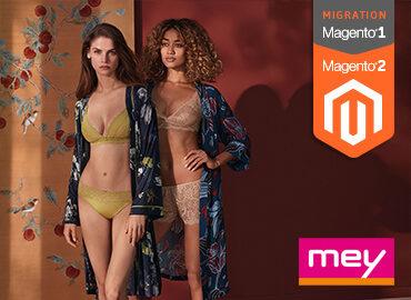 Mey Kachel Magento 1 Migration auf Magento 2