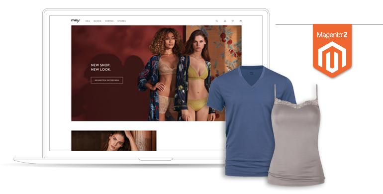 mey Magento 2 Shop Screen Startseite netz98
