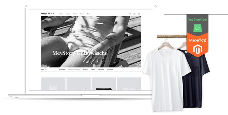 mey Story Vue Storefront Magento 2 Startseite Teaser