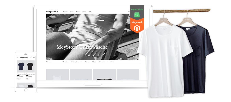 mey story Vue Storefront Magento 2