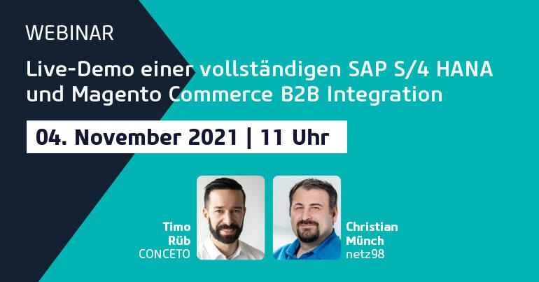 Teaser Webinar SAP