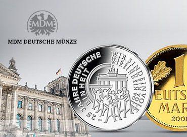 MDM Deutsche Münze netz98 Magento Referenzen