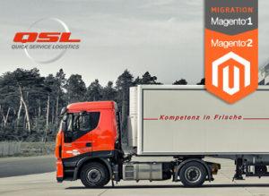 Logistik Referenz Magento