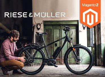 Riese & Müller netz98 Magento Referenzen
