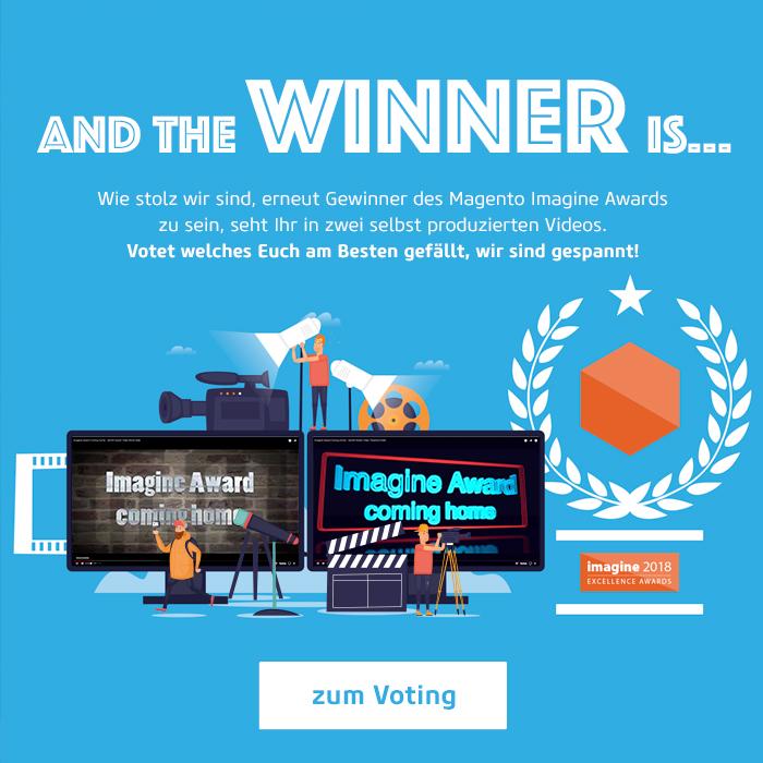 Magento Imagine Award Video Voting