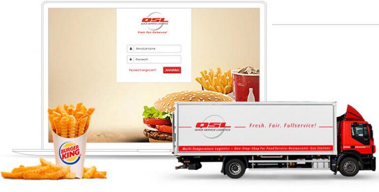 QSL Burger King Referenz Startseite