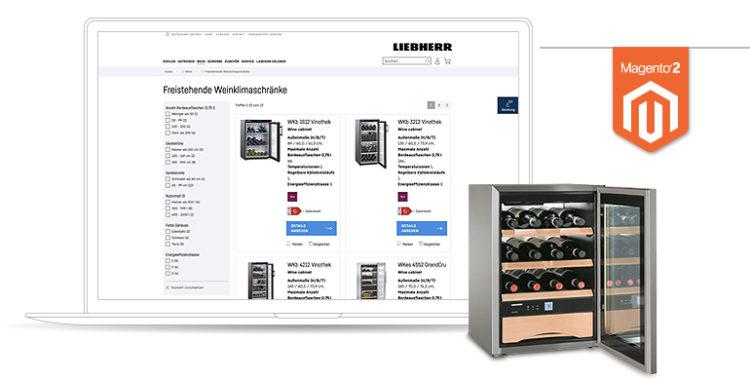 netz98 Referenz Magento 2 Liebherr Haushaltsgeräte