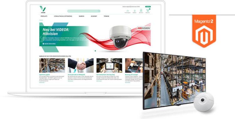 netz98 Startseite VIDEOR Referenz