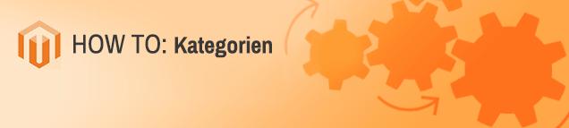 Kategorien verwalten in Magento