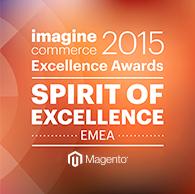 netz98 Magento imagine 2015 Spirit of Excellence EMEA Award
