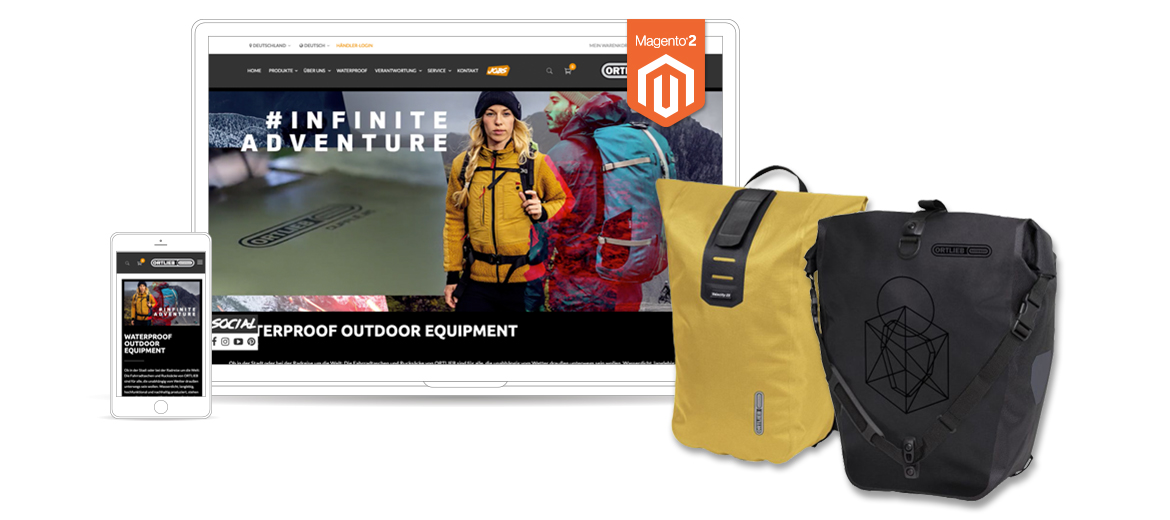 Ortlieb Screen Referenz Magento 2