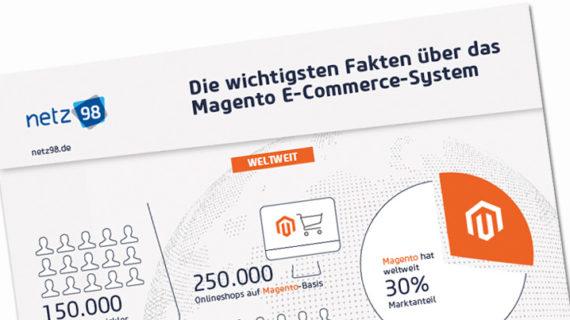 Teaser Magento Infografik (Bild: netz98)