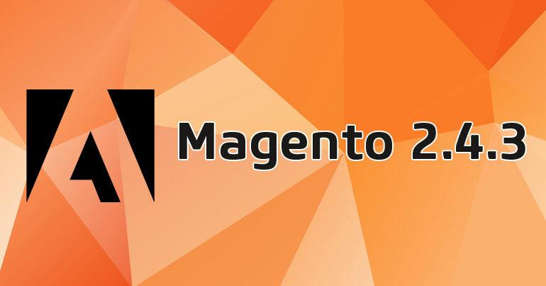 Magento 2.4.3